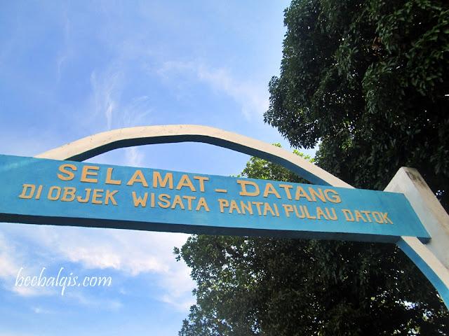 Pantai Pulau Datok Sukadana