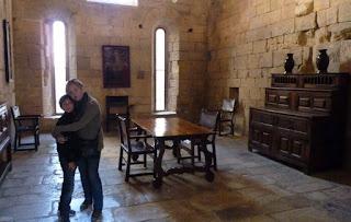 Calefactorio, Monasterio de Poblet
