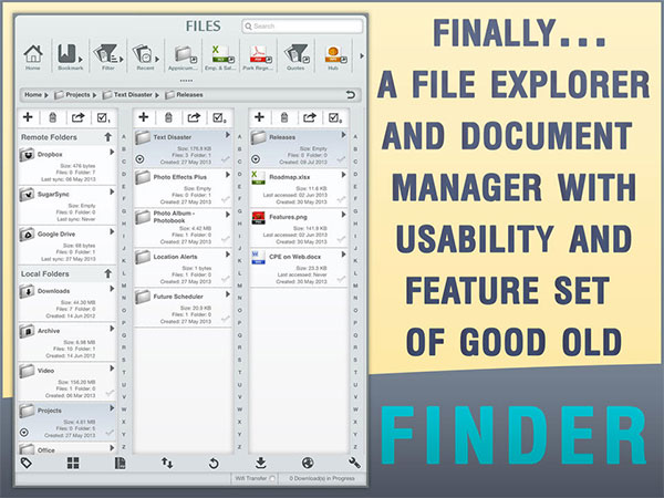 file manager app for ipad