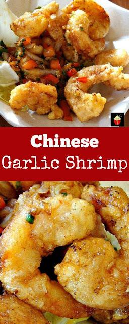 Chinese Garlic Shrimp
