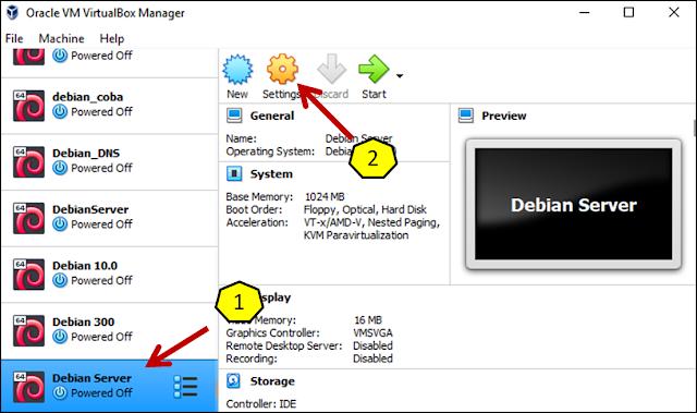 Instalasi Debian - Menambahkan file .iso debian