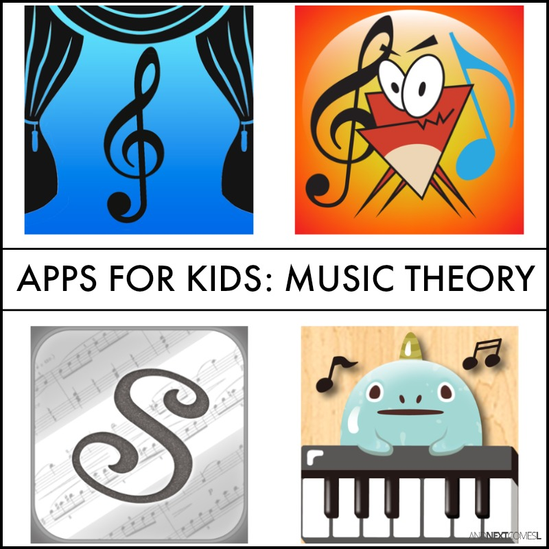 Music Theory Apps for Kids   And Next Comes L