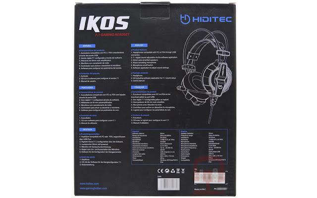 cascos gaming ikos, auriculares ikos, review auriculares gaming, packaging, review ikos, ikos, auriculares, comprar auriculares ikos, auriculares gaming, auriculares gamer, sonido envolvente