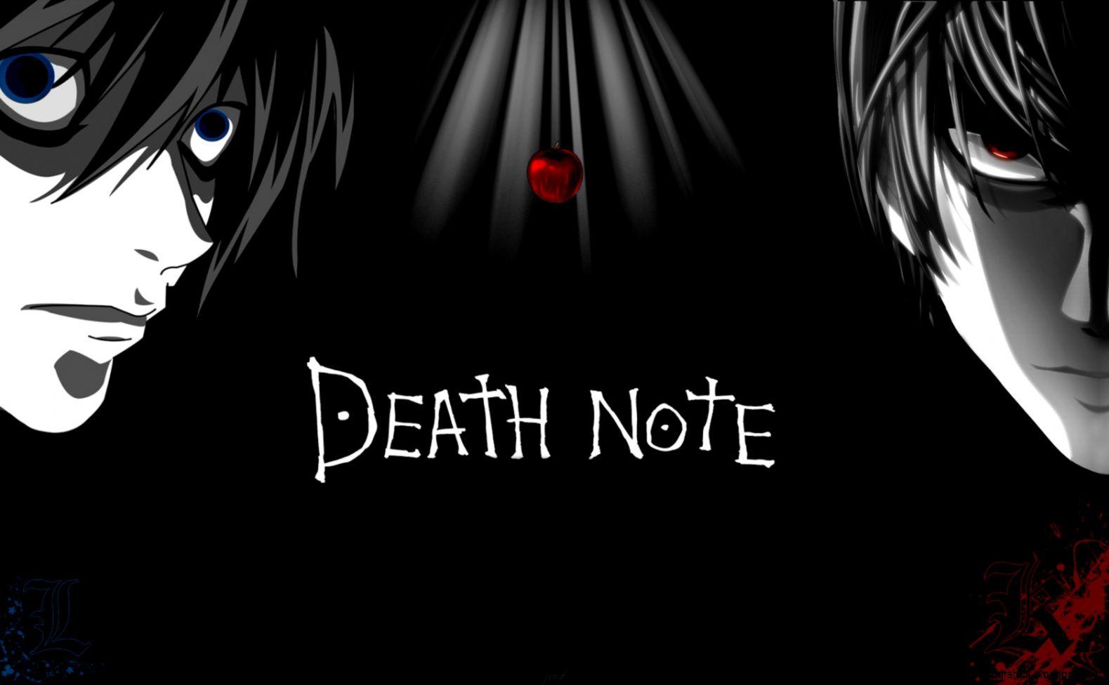 Black Wallpaper Death Note