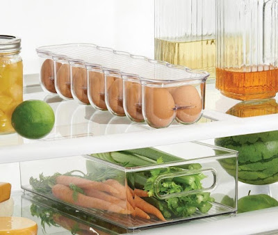 Fridge and Freezer Storage Organizer