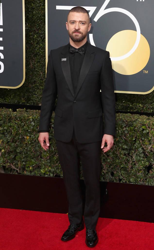 Golden Globes 2018, Red Carpet, Alfombra Roja, Tuxedos, Trajes, Ternos, Hombres, Looks, Outfits, Premiación, Masculinos, Estilismos, Vestir bien, Justin Timberlake