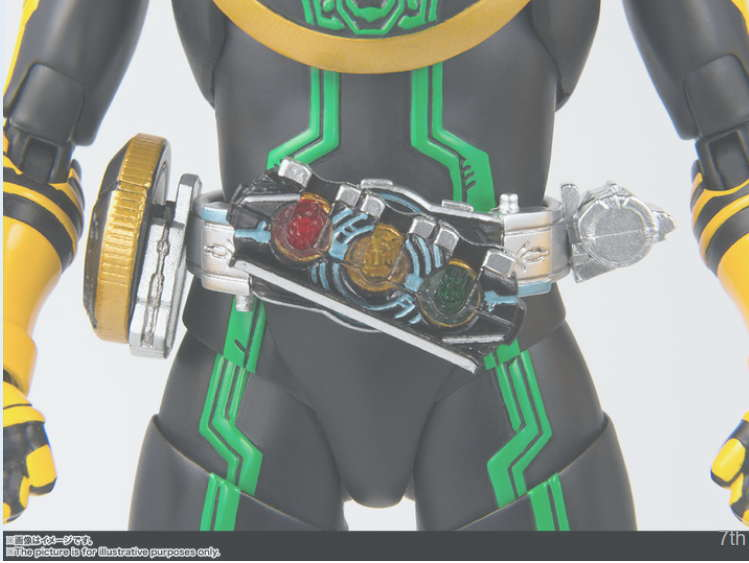 Action Figure Terbaru Kamen Rider OOO Tatoba Combo