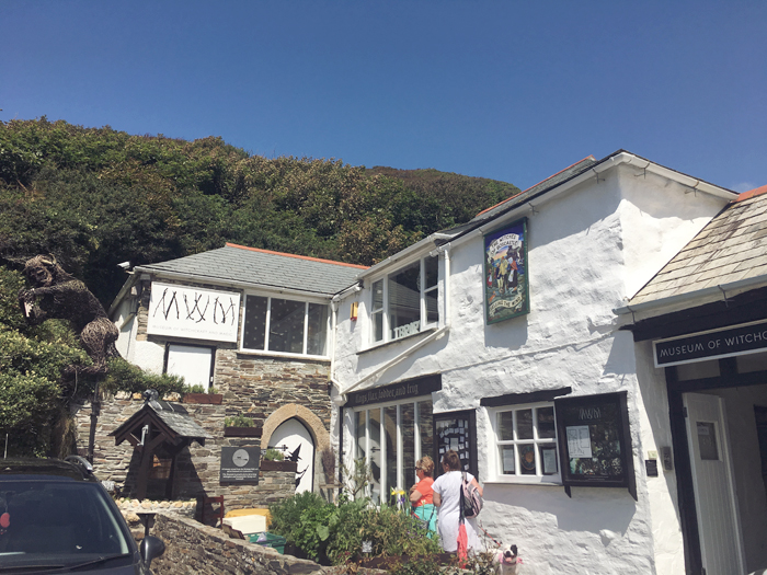 museum of witchcraft, boscastle cornwall