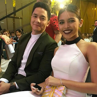 Alden and Maine present at the 47th Box Office Entertainment Awards Night  of Guillermo Mendoza Memorial Scholarship Foundation