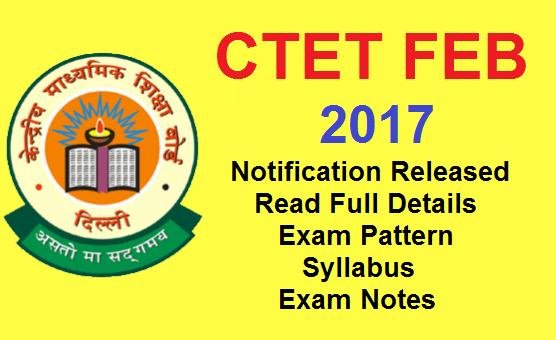 CTET Application Form 2017, CTET Feb Exam Online ... on february 2016 holidays, february calendar,