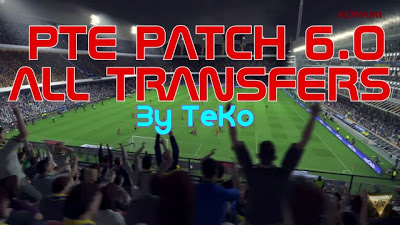 Option File PES 2016 untuk PTE Patch 6.0 Only update 1-09-2016