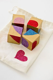 Wooden Block Heart Puzzle