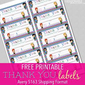 My Fashionable Designs: Free Printable: Owl Thank You ...