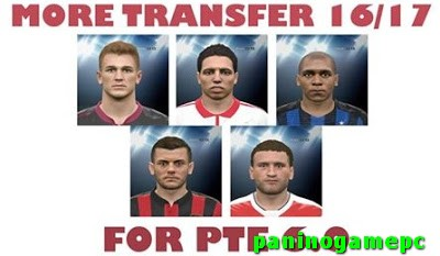 DOWNLOAD  PES 2016 UPDATE TRANSFER UNTIL 2 SEPTEMBER 2016 FOR PTE 6.0