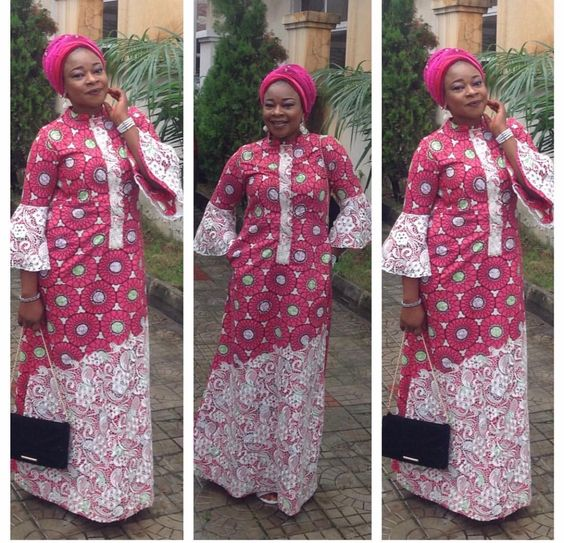A Shape Ankara Long Gown Styles Lovely Styles You Must Have Dezango