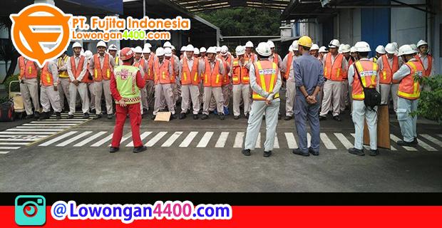 Lowongan Kerja PT. Fujita Indonesia KIIC Karawang