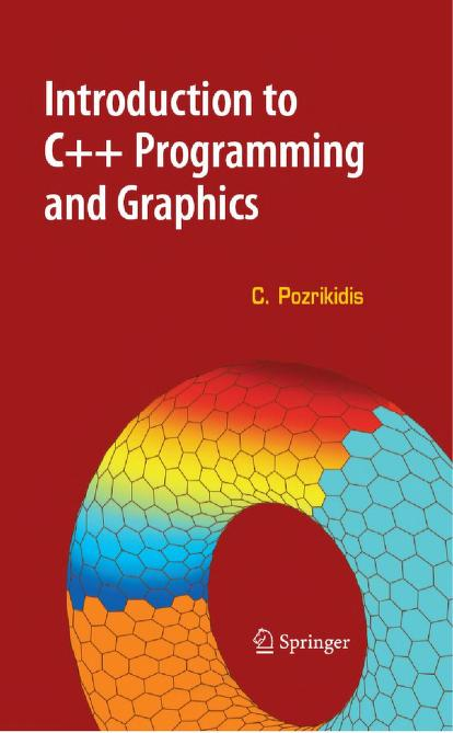 Introduction To C++ Programming And Graphics PDF Book