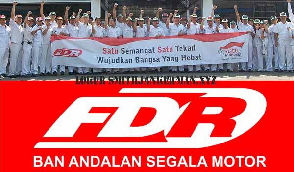 Lowongan Kerja Terbaru Operator Produksi Ban Motor FDR Bogor