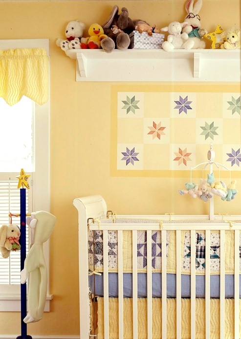 Designer Baby Room: New Home Interior Design: Decorating Gallery: Nurseries