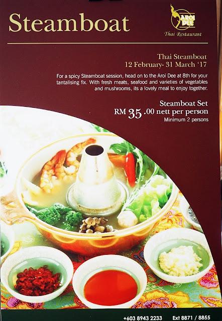 Thai Steamboat Promotion At RM35 nett Per Pax