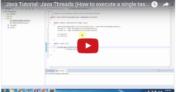 Java ee java tutorial java threads how to execute a for Thread pool design pattern java