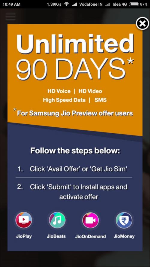 My Jio App 3 2 05 APK download My Jio App Old version get