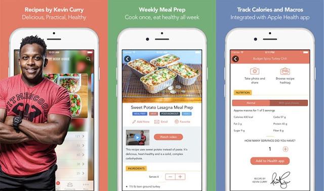 تطبيقات وجبات صحية غذائية لمحبي الجيم