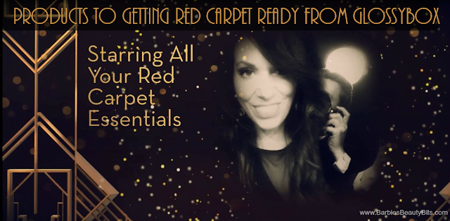 Products To Getting Red Carpet Ready From GLOSSYBOX, By Barbies Beauty Bits and Kylie Jenner's Sinfulcolors official nail polish
