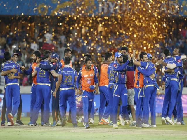 Ipl10 Final MI vs RPS Mumbai Indians Becomes Ipl Champion For 3rd Time