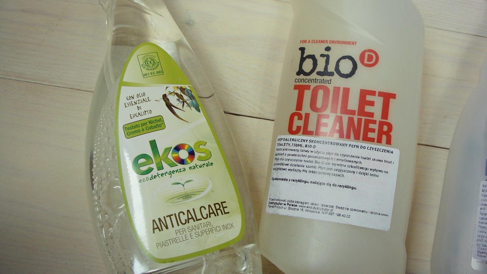 EKO sprzątanie - ŁAZIENKA, ekos, bio d, ocet, soda