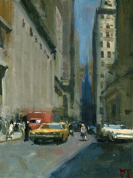 Darren Thompson Fine Art Wall Street 1970