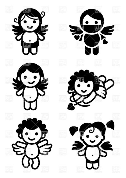 Cute Cupids  Collection Of Angels Click To Zoom