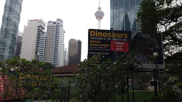Pameran Dinosaurs Alive @ Kuala Lumpur 2017