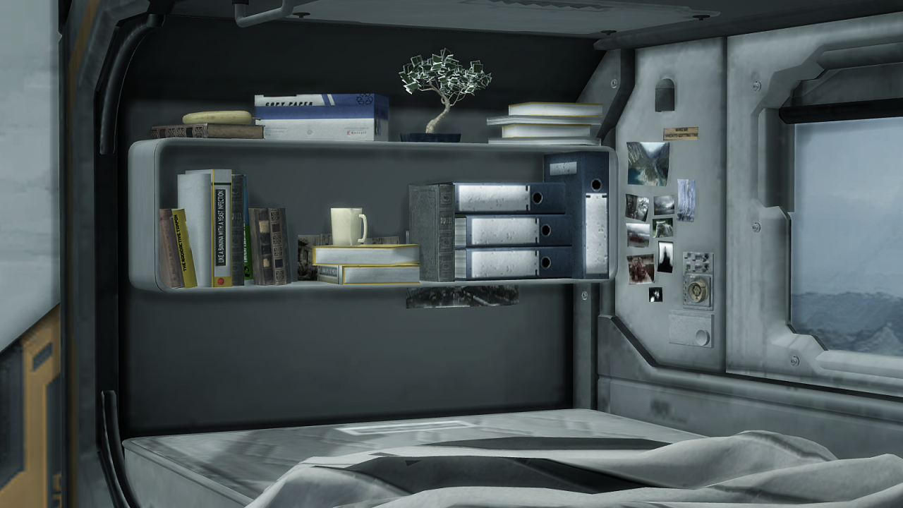 My sims 4 blog ts2 sci fi bedroom set conversion by mimoto for Sci fi decor