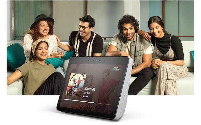 Amazon Echo Show smart display with 10-inch HD screen, Dolby Sound, Hands-Free Calling launched with Rs. 22,999