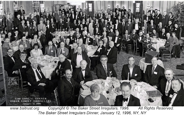 The 1996 BSI Dinner group photo