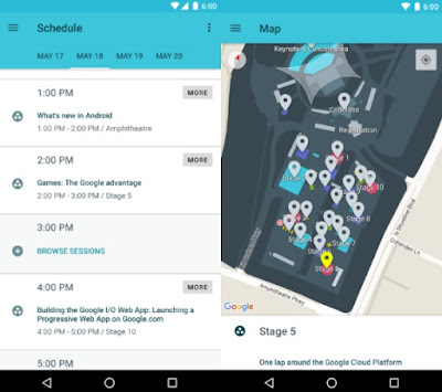 Google I/O Android App Got Update For 2016 Event : Download it To Start Your Sessions Planning