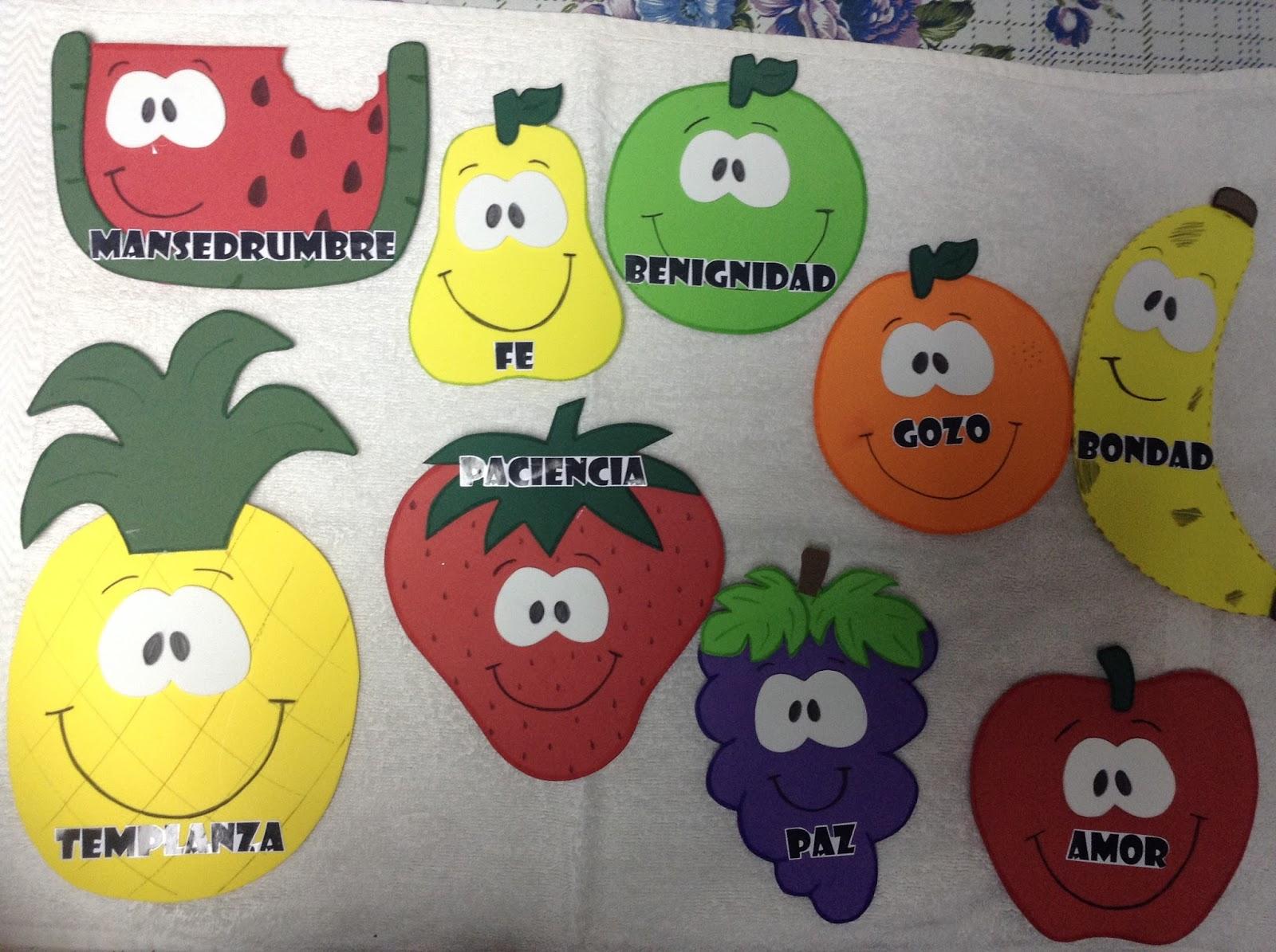 El Arbol De Los Frutos Para NiÑos: EBI Chile: Ideas De Recursos