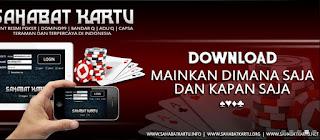 SAHABATKARTU.COM AGEN POKER ONLINE DOMINO 99 BANDARQ ONLINE TERPERCAYA INDONESIA
