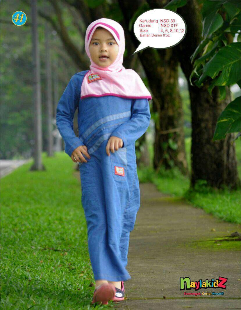 Contoh Baju Muslim Anak Perempuan Terbaru Danitailor