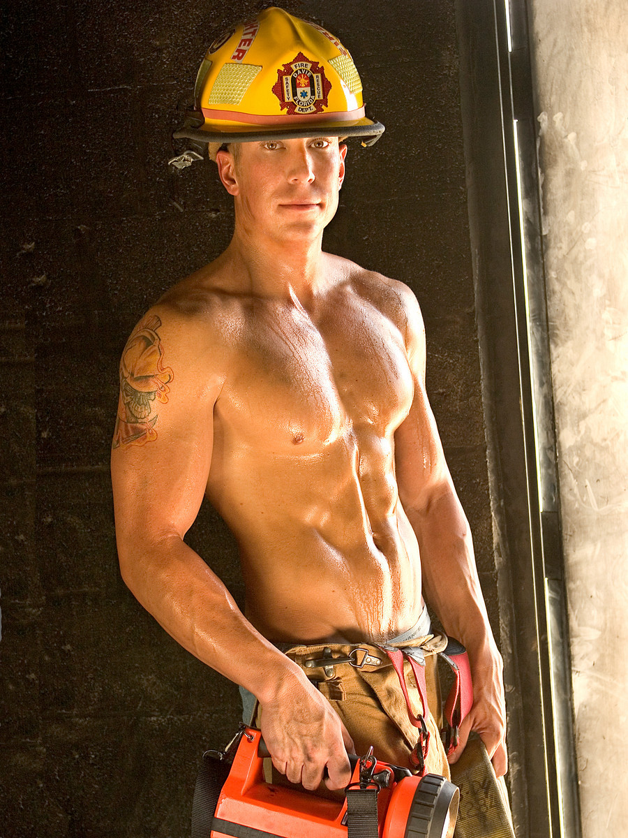 Words... naked male fireman calendar casual