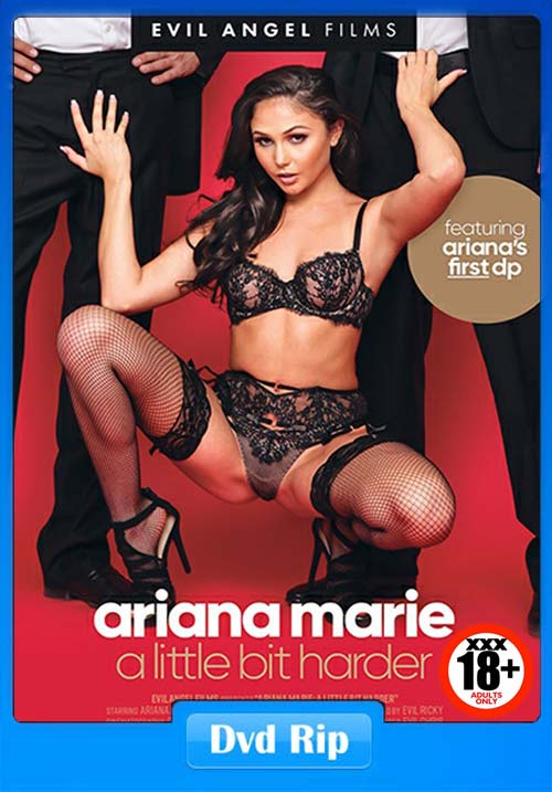 [18+] Ariana Marie A Little Bit Harder 2018 XXX DVDRip Movie x264