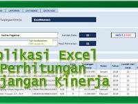Aplikasi Excel Formulir Perhitungan Tunjangan Kinerja