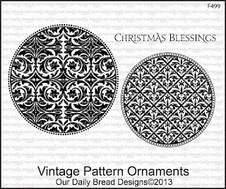 Stamps - Our Daily Bread Designs Vintage Pattern Ornaments