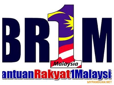 Jumlah Bantuan BR1M 2018 Bagi Semua Kategori