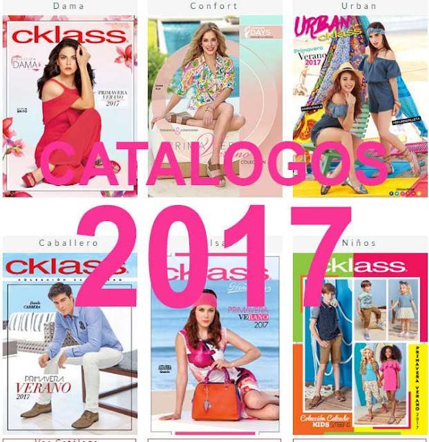 Catalogos digitales de cklass 2017 Primavera verano