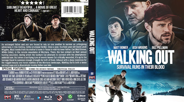 Walking Out Bluray Cover