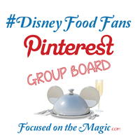 Disney Food fans Pinterest Board