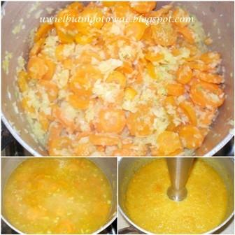 Zupa krem z marchwi