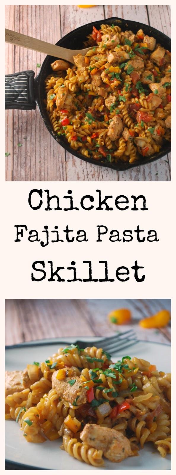 30 minutes skillet fajita pasta